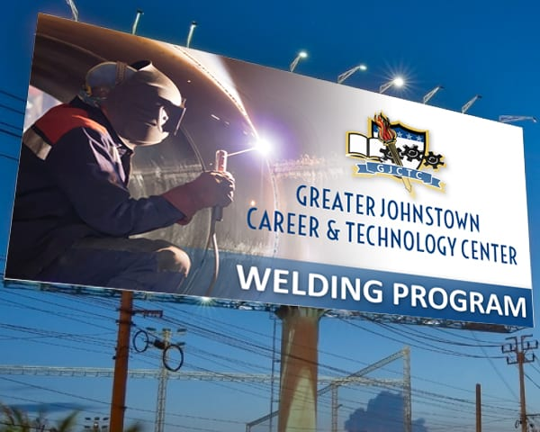 GJCTC Welding billboard