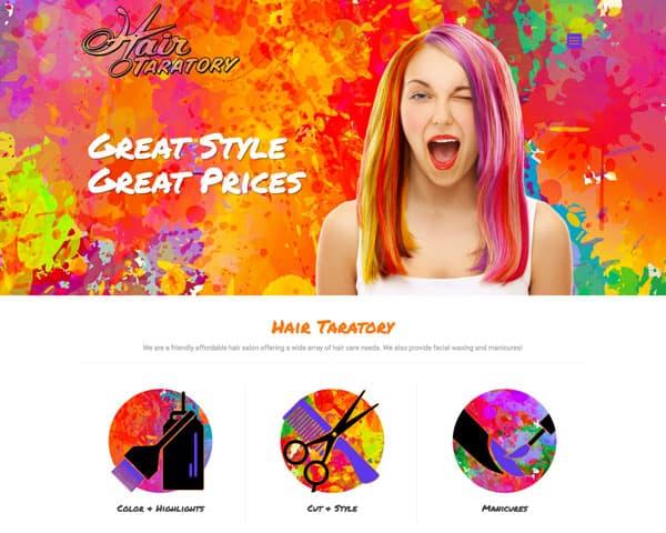 Hair Taratory Website