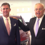 Still from Laurel Auto Group commercial with Matt and Mike Smith