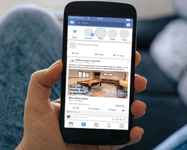 Mihalko's General Contracting Facebook Ads