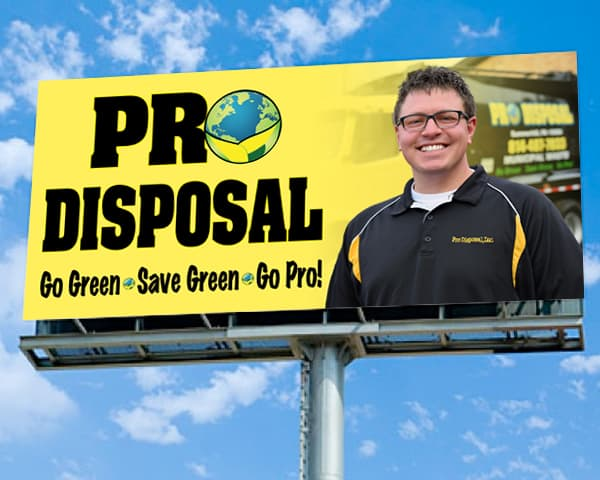 Pro Disposal – Billboard