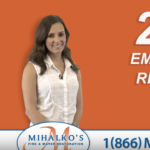 Mihalko's Fire & Water Restoration Commercial