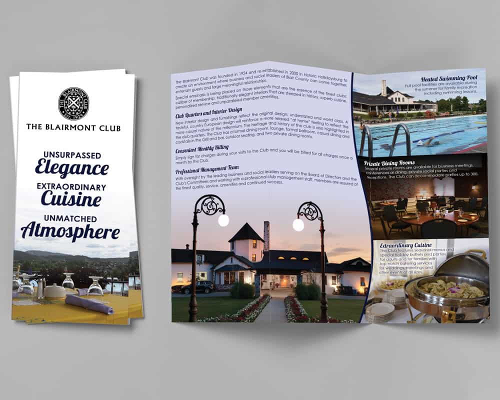 Blairmont Club Brochure
