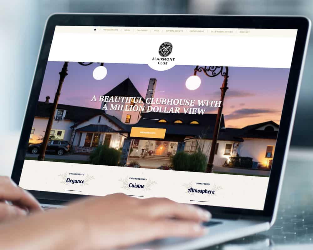 Blairmont Club Website