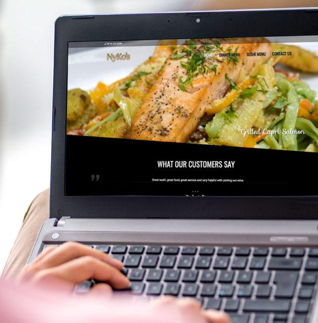 Nyko's Restaurant Website